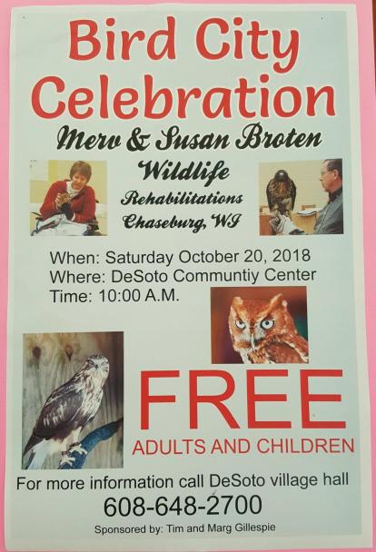 Bird City Celebration 10-20-18