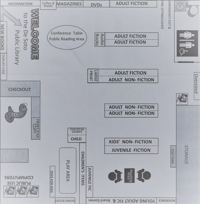 Public Library Floor Plan