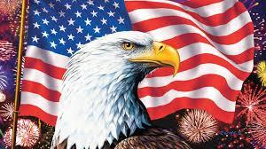 eagle-american-flag
