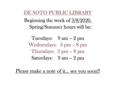 Library Summer Hours 2020-03-13_123111