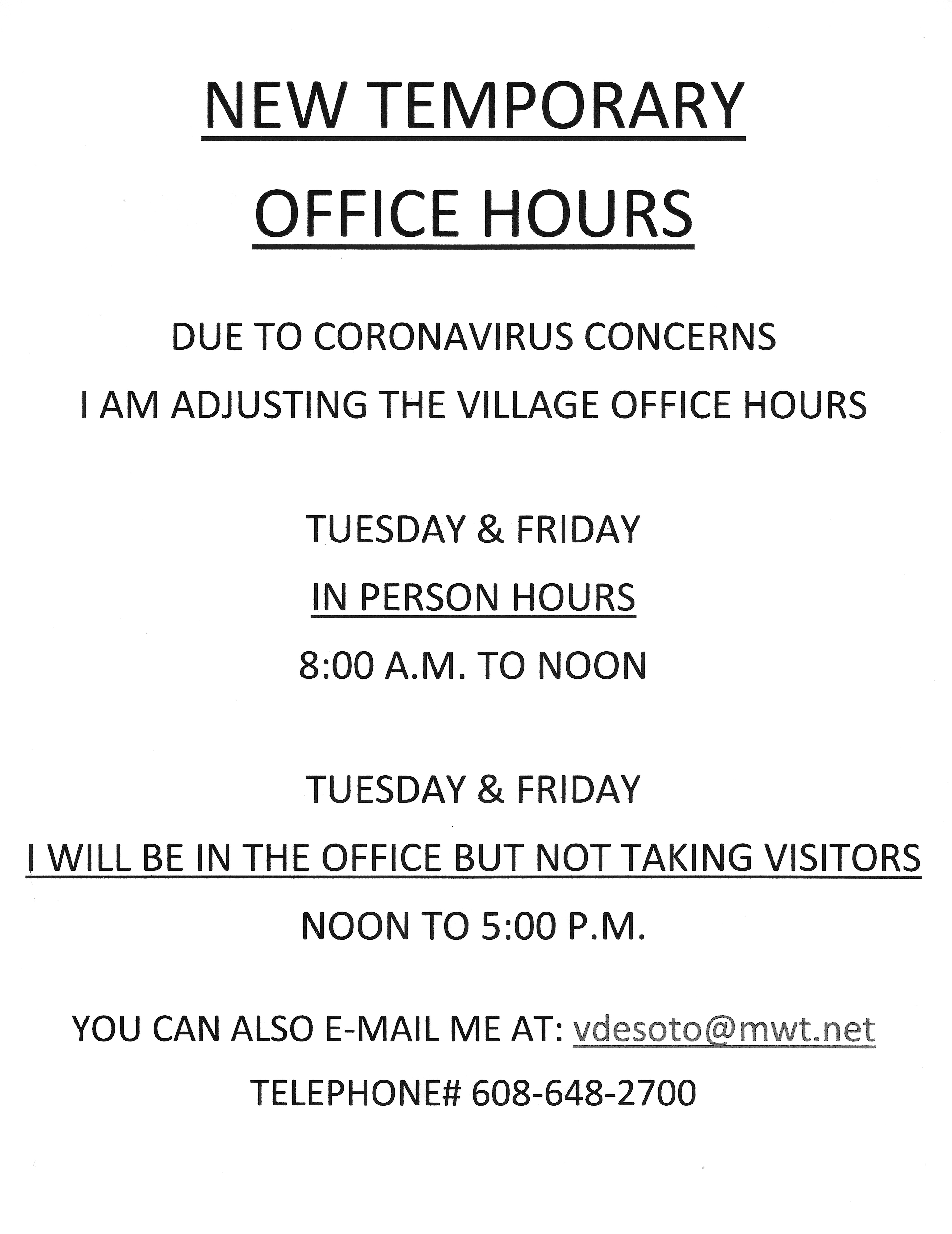 TEMPORARY VILLAGE OFFICE HOURS - 2020-03-21_125051